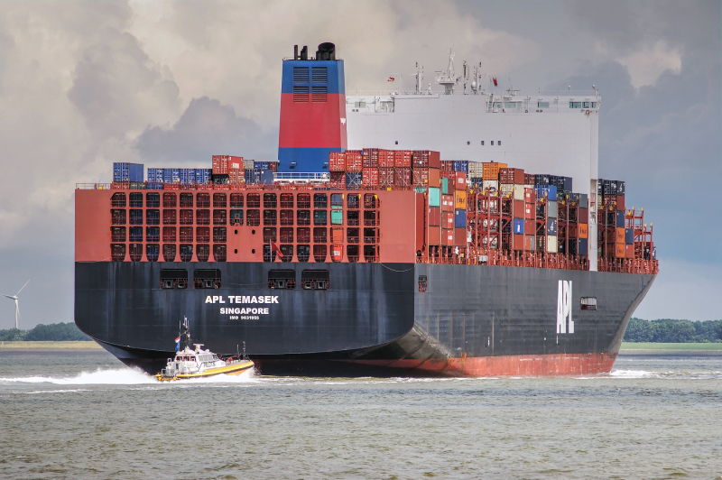 TOP TEN: The Largest Capacity Container Ships of the World